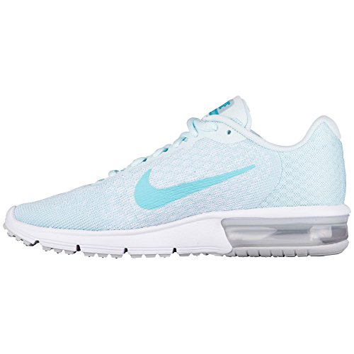 NIKE WMNS Air Max Sequent 2 Womens 852465-014 Pure Platinum/Polarized Blue clearance websites 2014 unisex cheap online clearance very cheap T6fK7jIDX