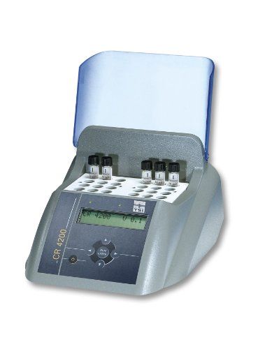 - YSI 1P23-2Y Model CR4 200 Thermoreactor for COD & Thermal Digestions, Upto 2x12 Reaction Test Tubes, Selectable Temperatures and 8 User-Defined/8 Fixed Programs, 115V
