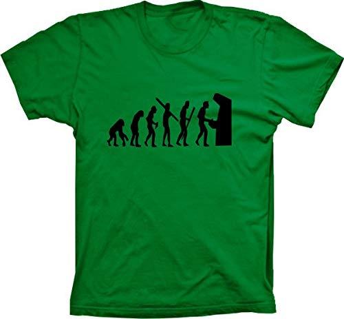 Camiseta Evolução Da Humanidade Fliperama