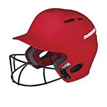 DeMarini Paradox Batting Helmet with Softball Protective Mask