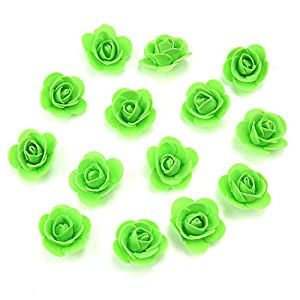 Mini PE Foam Rose Flower Head Artificial Rose Flowers Handmade DIY Wedding Home Decoration Festive & Party Supplies 5