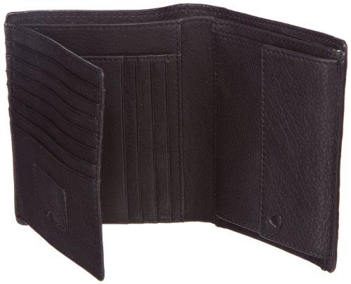 Strellson Harrison BillFold V11 4010001048 Herren Geldbörsen 11x13x1 cm (B x H x T), Schwarz (black 900) Schwarz (Black 900)