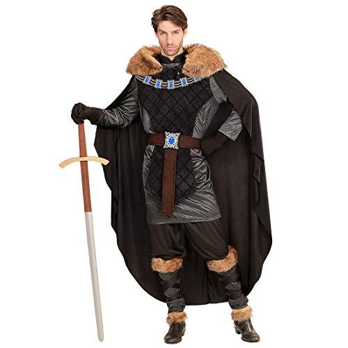 NET TOYS Disfraz Edad Media príncipe con Capa de Piel ...