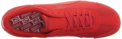 Puma Mens Roma Basic Summer Fashion Sneaker Rosso Ad Alto Rischio