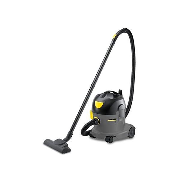 Kärcher T 10/1 Drum 10L 1250W E Black,Grey - vacuum cleaners (Drum, E, Dry, Professional, Carpet, Hard floor, Black, Grey, Yellow)