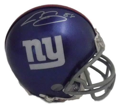 Evan Engram Autographed New York Giants Mini Helmet JSA ()