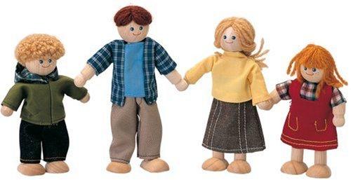 Plan Toy Doll Family – Caucasian, Baby & Kids Zone