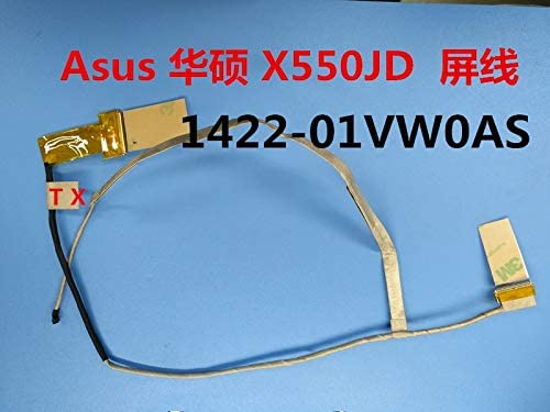 Computer Cables LCD Screen Video Cable for X550JD-1a 1422-01VW0AS Asus FX50 FX50J FX50JK FX50JX X550JD 4200 4710 X550C X550VB A550 F550L Cable Length: Other