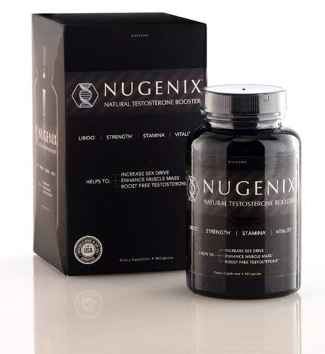Nugenix Testosterone Booster for Men - Clinically Dosed, High Quality Men's Test Support, Feel Stronger and More Energetic, Helps Lean Muscle and Stamina, 90 Count