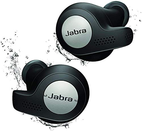 Jabra Elite Active 65t صادقانه ورزشی بی سیم واقعی گوشواره با شارژ - تیتانیوم سیاه
