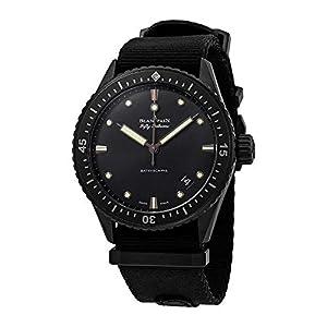 Best Epic Trends 41G16KltsjL._SS300_ Blancpain Fifty Fathoms Automatic Men's Watch 5000-0130-NABA