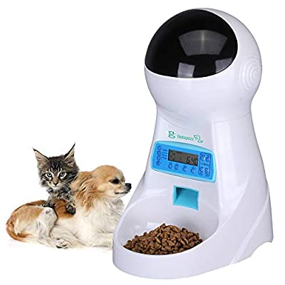 Automatic cat feeder BELOPEZZ 3Liters Smart Pet Automatic Feeders with Timer Programmable... [tag]