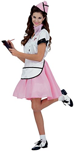 [Rubie's Costume Co. Women's Soda Pop Girl 50s, As Shown, One Size] (Family Themed Fancy Dress Costumes)