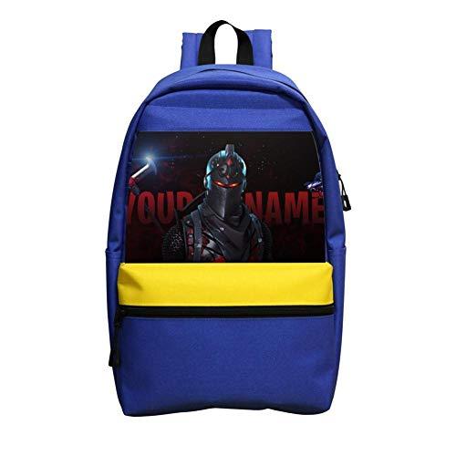 Space Black Knight_Fortnite3D Printed School Bag Backpack College Shoulder Satche Travel Bag Casual School Business Daypack for Kids Adult