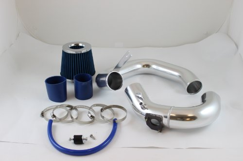 03 04 05 06 07 08 09 Mazda 3 Mazda3 2.0L/2.3L Cold Air Intake Blue (included air filter) # CAI-MZ002 blue