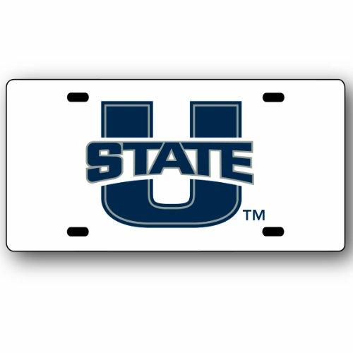 NCAA Utah State Aggies License Plate (Utah State License Plate)