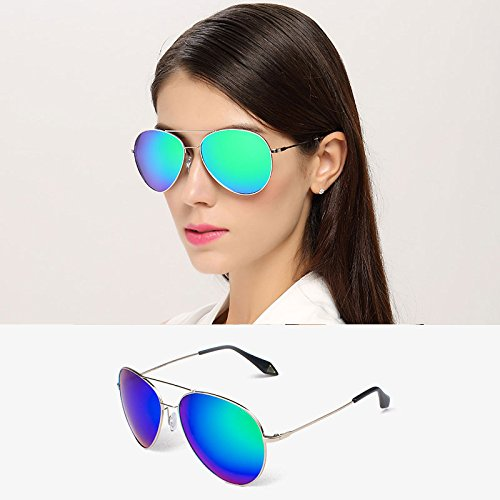 de Coreanas polarizadas 2 2 Gafas Sol de Color Gafas Gafas Sol Femeninas DT Delgadas zqwff5