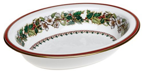- Spode Christmas Rose  Open Vegetable Dish