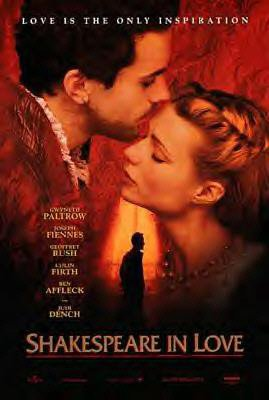 Expert choice for shakespeare in love poster
