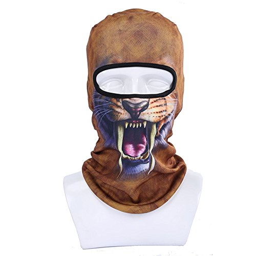 Balaclava Ski Face Mask, Motorcycle Face Masks Windproof Dust-Proof and UV Protect Face Mask, Balaclava Outdoor Mask for Out Riding Motorcycle Bicycle Fishing, Moisture-Wicking Performance Fabric by Top studio