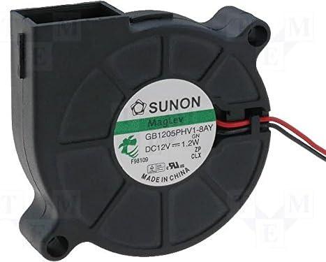 Sunon Ventilador radial 50 x 50 x 15 mm mf50151 V1 de A99 DC 12 V ...