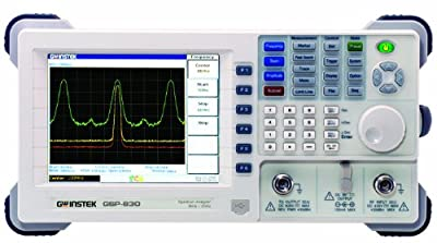 GW Instek GSP-830TG Spectrum Analyzer Portable with Tracking Generator, Low Noise Floor, 9 kHz to 3.0 GHz Range