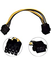Alfais 4830 6 Pin To 8 Pin PCI E Express Çevirici Power Güç Kablosu