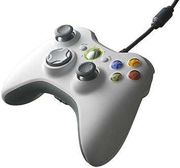 Mando Xbox360 Blanco (Con Cable) (Sin blister): Amazon.es: Electrónica