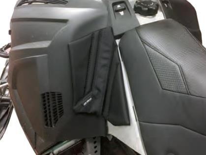 Skinz Protective Gear ACKP460-BK Pro-Series Console Knee Pads - Black - Bk Black Pad