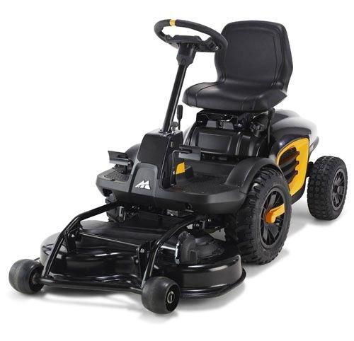 McCulloch M F 125-85 Ride-On Lawn Mower Mulching, Wheels, Startup: Electric Cutting 85 cm