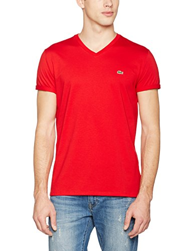 Th6710 Lacoste shirt Rouge Tee Homme rqtxn5rHpa