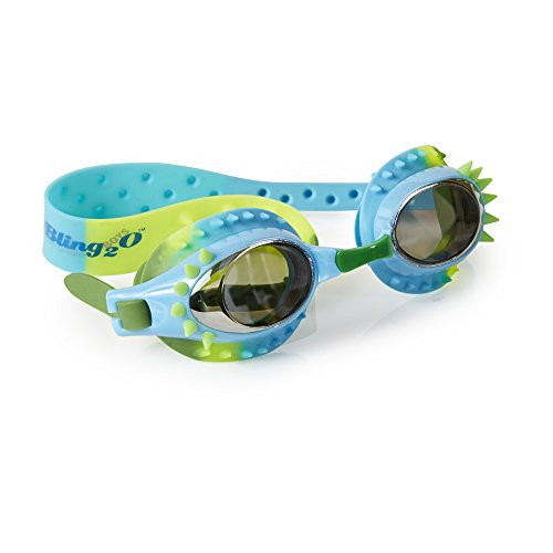 [Swimming Goggles For Boys - Aquaman Kids Swim Goggles By Bling2o (Surf Life)] (Red Baron Baby Costume)