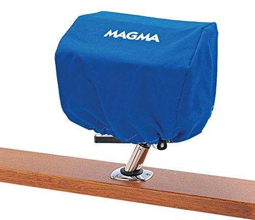 Magma Products, A10-890PB Sunbrella Rectangular Grill Cover, Pacific Blue, 9