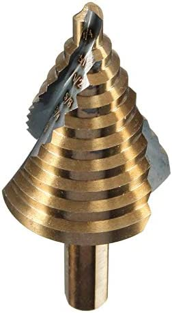 GENERICS LSB-Werkzeuge, 1/4 Zoll-1-3/8 Zoll Stufenbohrer Cobalt M42 Reibahle