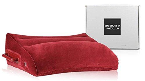 Inflatable pillow by Beauty Molly wedge shape inflatable pillow hold up to 300lbs by Beauty Molly