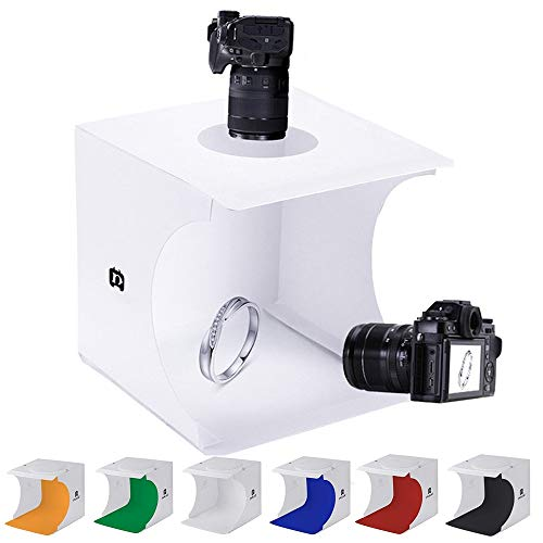 Mini Photo Studio Tent Jewelry Light Box Kit, SENLIXIN Portable Foldable Small...