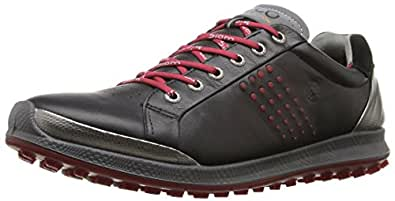 ECCO Men's Biom Hybrid 2 Golf Shoe,Black,40 EU/6-6.5 M US