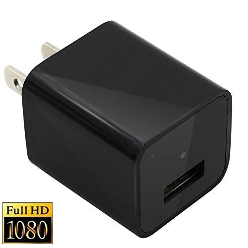 LFHMLF Hidden Camera Adapter HD 1080P Spy Camera USB Wall Ch