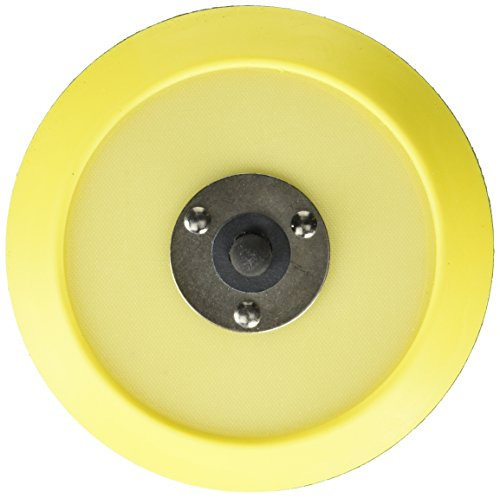Chemical Guys BUFLC_BP_DA_6 Dual-Action Hook and Loop Molded Urethane Flexible Backing Plate (6 Inch)