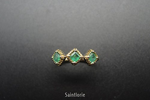 0.5 Ct Emerald Ring - 5