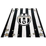 Juventus Bianco nero Copriletto coperta in pile enorme 240 cm