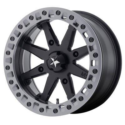 4/137 Motosport Alloys M31 Lok2 Beadlock Wheel 14x7 3.5 + 3.5 Satin Black for