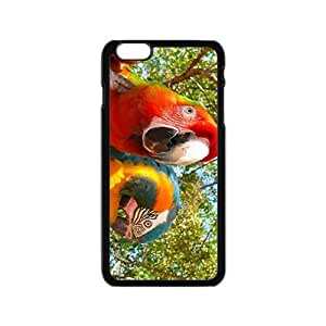 The Red Parrot Hight Quality Plastic Case for Iphone 6