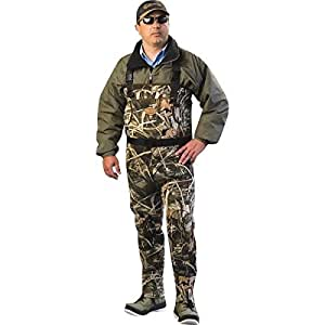 Waterfowl wading systems max 5 neoprene for Fishing waders amazon