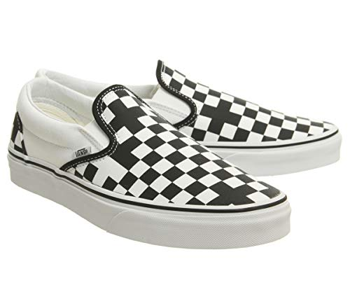 Zapatillas deporte White Vans Black Geometric ante True de unisex Exclusive de 7pnnqFd