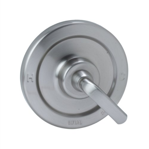 Cifial 295.605.620 Stone Mountain Pressure-Balance Shower Trim without Diverter, Satin Nickel - Cifial Stone