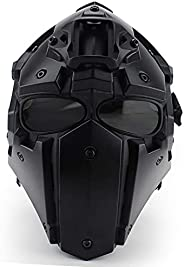 NECHARI New Tactical Outdoor Riding Integrated Helmet Mask