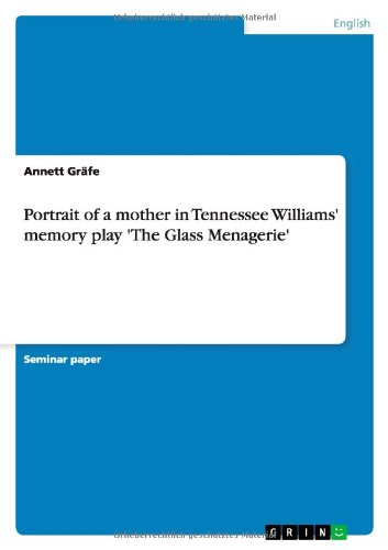 student analysis of the glass menagerie Buy the glass menagerie (penguin modern classics) by tennessee williams, e  browne,  synopsis abandoned by her husband, amanda wingfield comforts  herself with recollections of  the glass menagerie (student editions)  paperback.