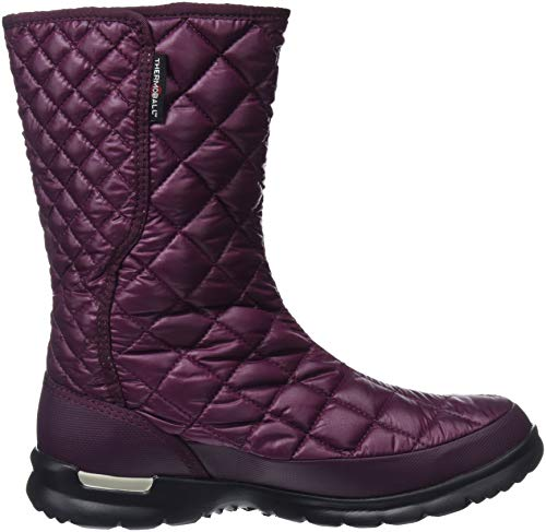 shiny Thermoball Insulated Bottes 5ug Marron De up Face Femme North White The Fig vintage Neige Button qwAPxp