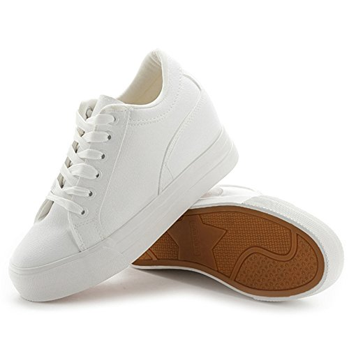 Smiry Fashion Casual Leather Sneakers